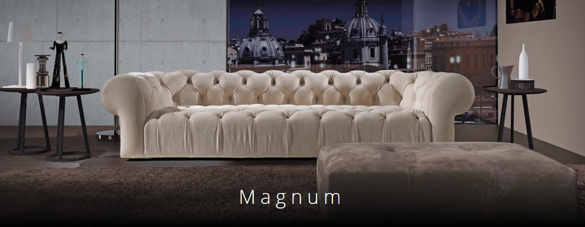 Magnum, Asnaghi made in Italy